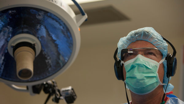 Wearable technology progress: Surgeons are using Google Glass in the operating rooms…..