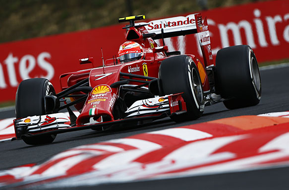 Raikkonen suggested the fact he failed to overtake the fifth placed Williams of Felipe Massa in the closing stages of the race shows how