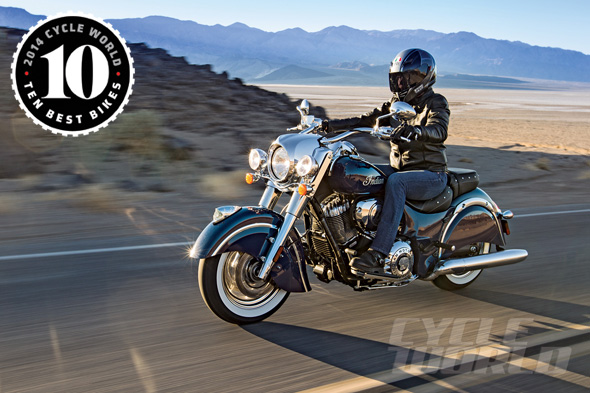 Indian Chief Classic is the Best Cruiser Motorcycle of 2014…..