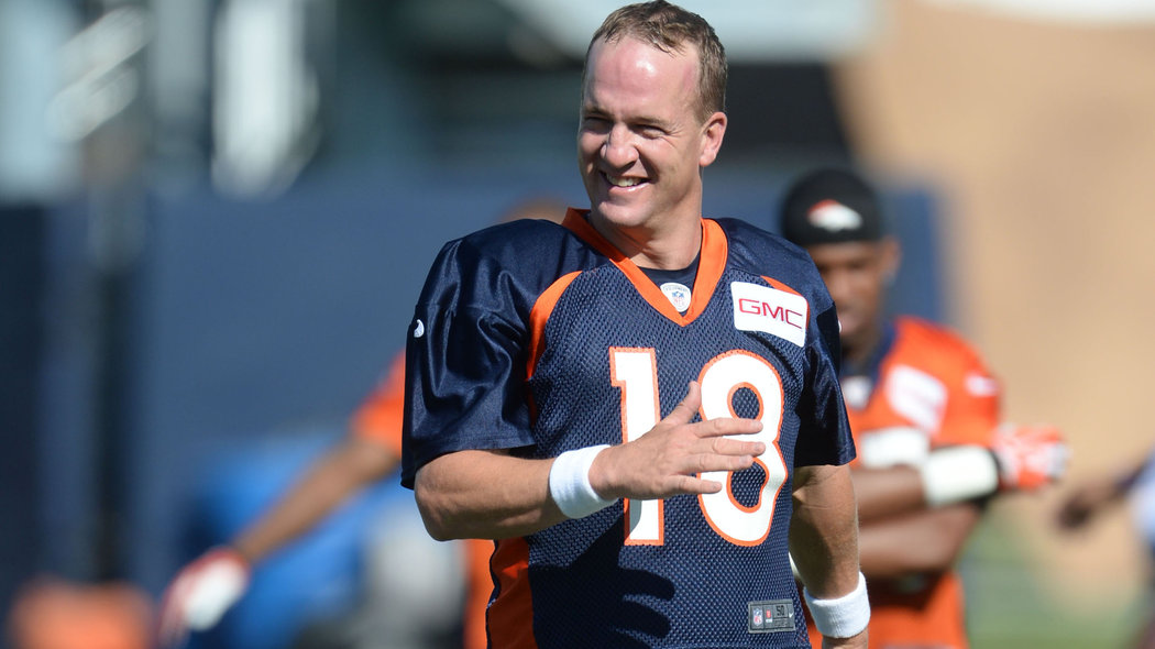 Here's the original video of the Peyton dance, via 9 News in Denver. Autoplay warning!