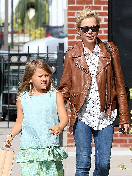 Michelle Williams celebrates her birthday with daughter Matilda who is now 7 1/2! Lovely ladies!