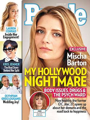 Mischa Barton rocketed to fame 10 years ago and then just about disappeared. According to 'People,' she was battling self-image issues,…