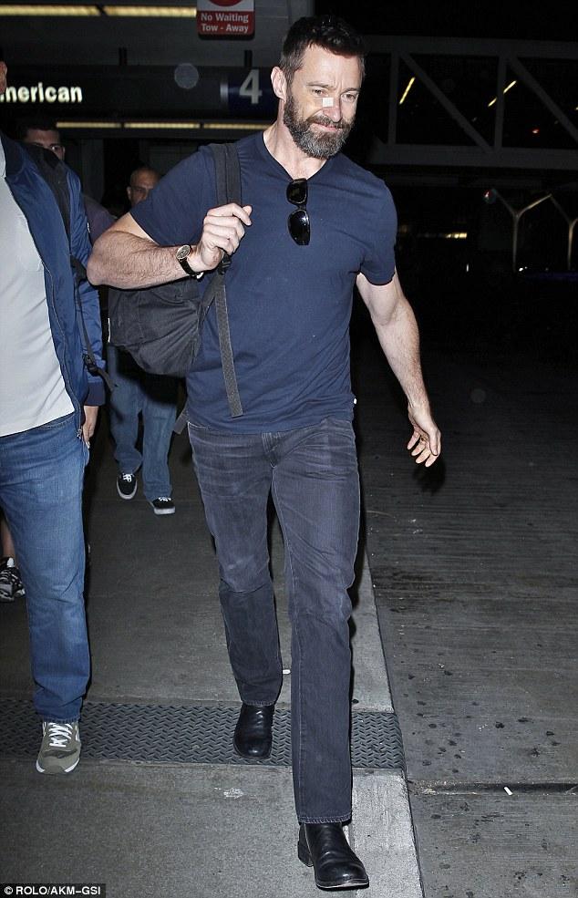 Hugh Jackman Muscles