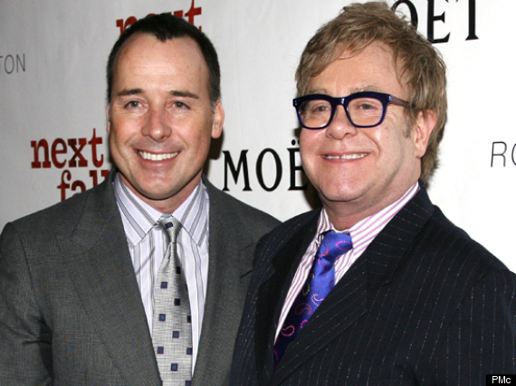 Elton John to Wed Civil Partner David Furnish