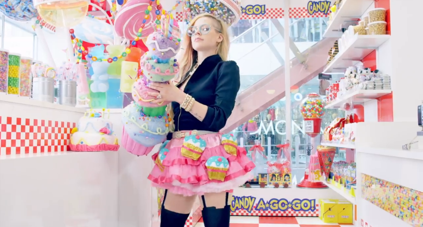 "Avril Lavigne Stirs Up Controversy with ""Hello Kitty"""