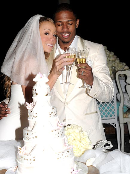 Nick Cannon and Mariah Carey Wedding