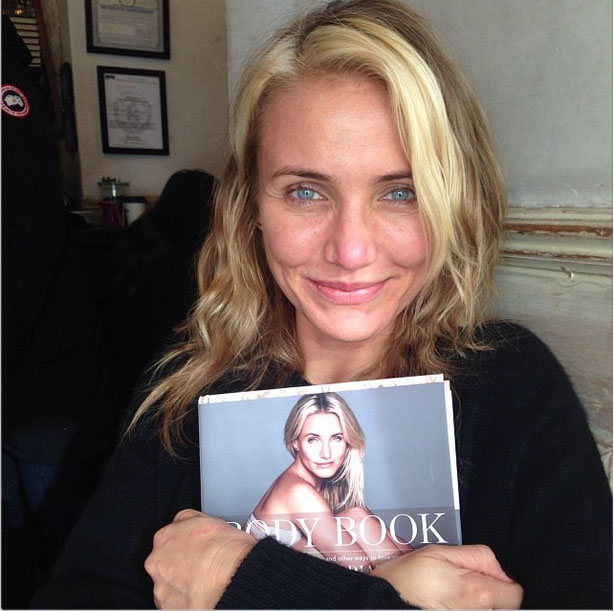 Cameron Diaz's Natural Beauty!