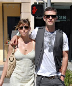 Exclusive...Justin Timberlake & Jessica Biel Support Each Other! 6/8