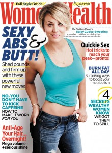 Kaley Cuoco Covers Women's Health Magazine