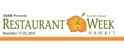 Hawaii Restaurant Week