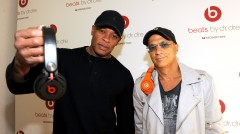 Dr Dre and Jimmy Iovine