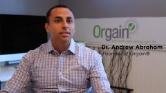 Orgain founder Dr. Andrew Abraham shares how being diagnosed with cancer at 18-years-old drastically changed his lifestyle, diet, thinking,