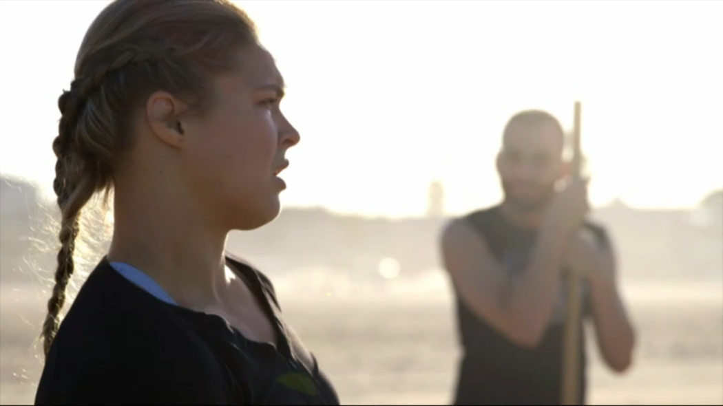 ESPN filmmakers Nadine Mundo and Rena Mundo Croshere profiled UFC women's bantamweight champion Ronda Rousey in the latest installment of