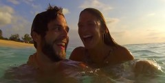 "Watch Thomas Rhett's music video for ""Vacation"" . . ."
