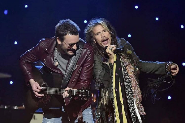 Eric Church with Steven Tyler