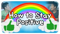 Stay positive always…