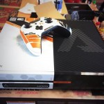 Check out an exclusive Titanfall-branded Xbox One console…..