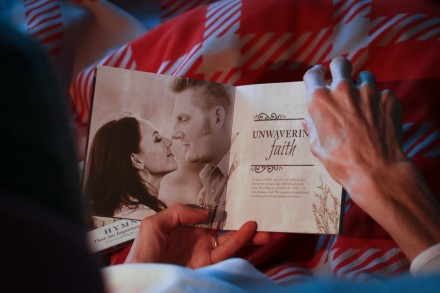 Joey+Rory share picture of their Valentine's Day kiss