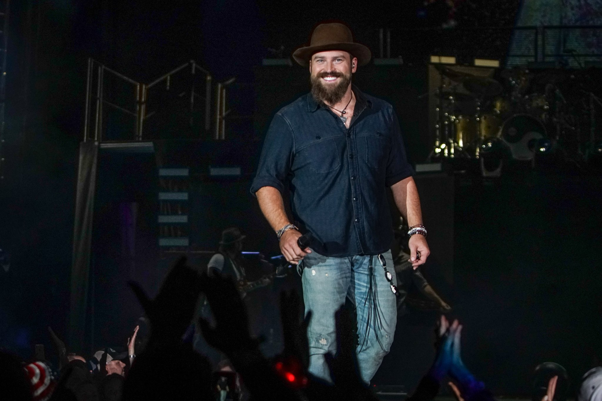 Zac Brown smiling