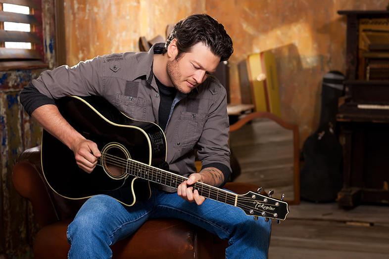 Blake Shelton guitar