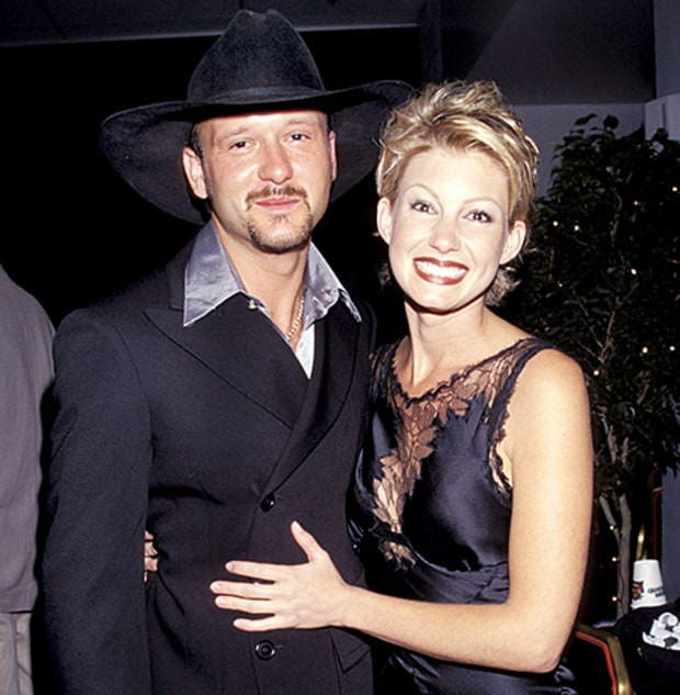 tim mcgraw and faith hill in 1996