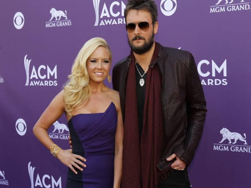 eric church with wife katherine blasingame