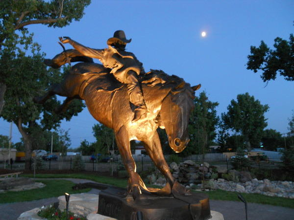 Chris LeDoux monument