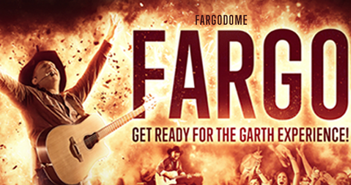 Garth Brooks Fargo Dome