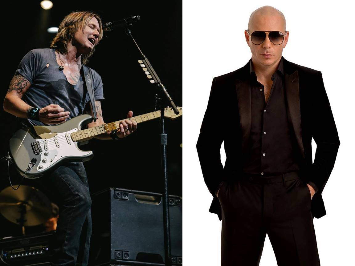 keith urban and pitbull