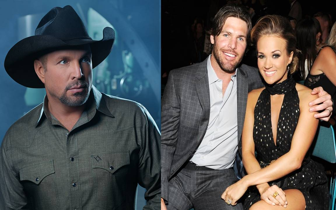 garth brooks, carrie underwood and mike fisher