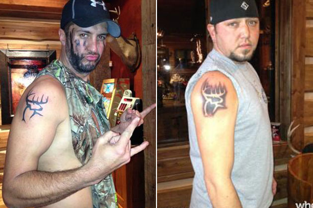 luke bryan and jason aldean's matching tattoos
