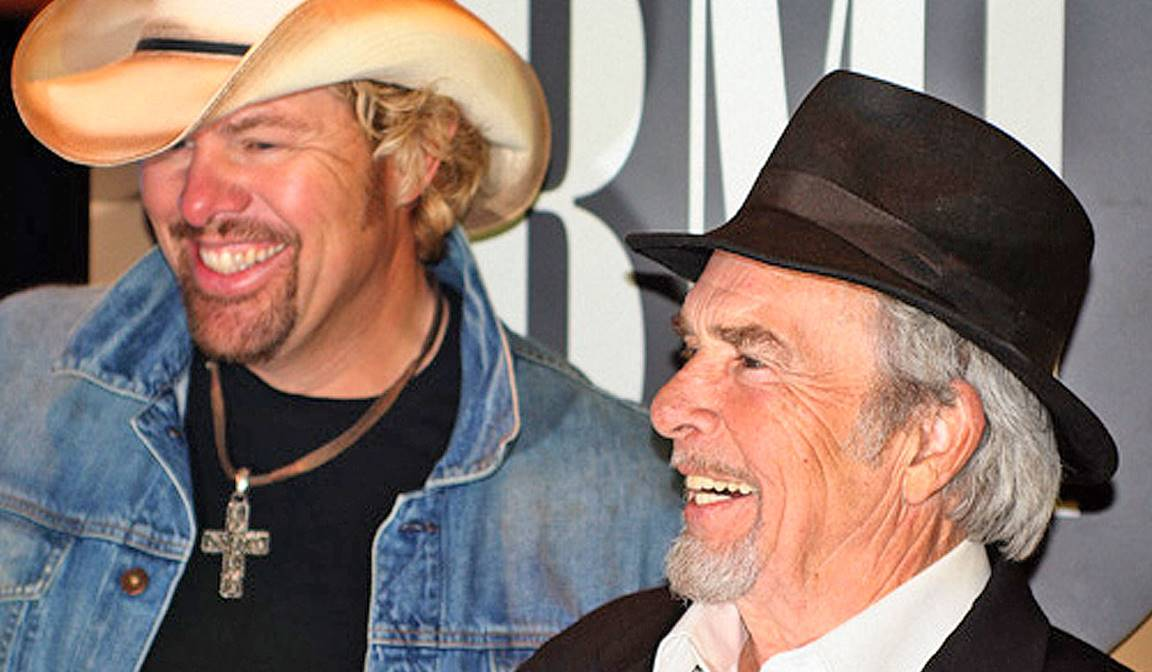 toby keith and merle haggard