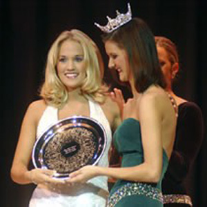 carrie underwood in pageant