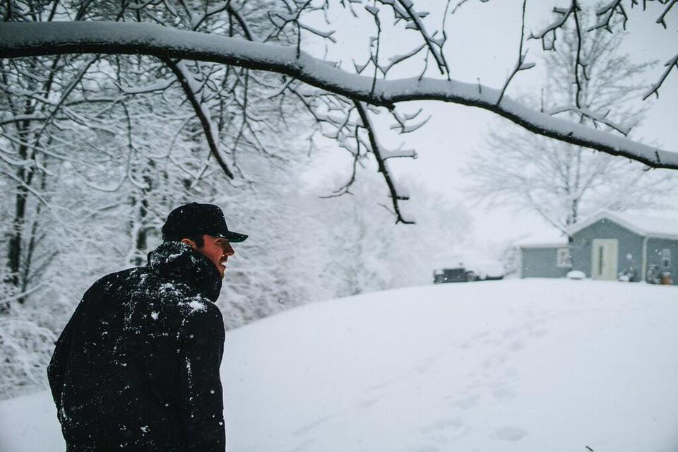 Sam hunt in snow