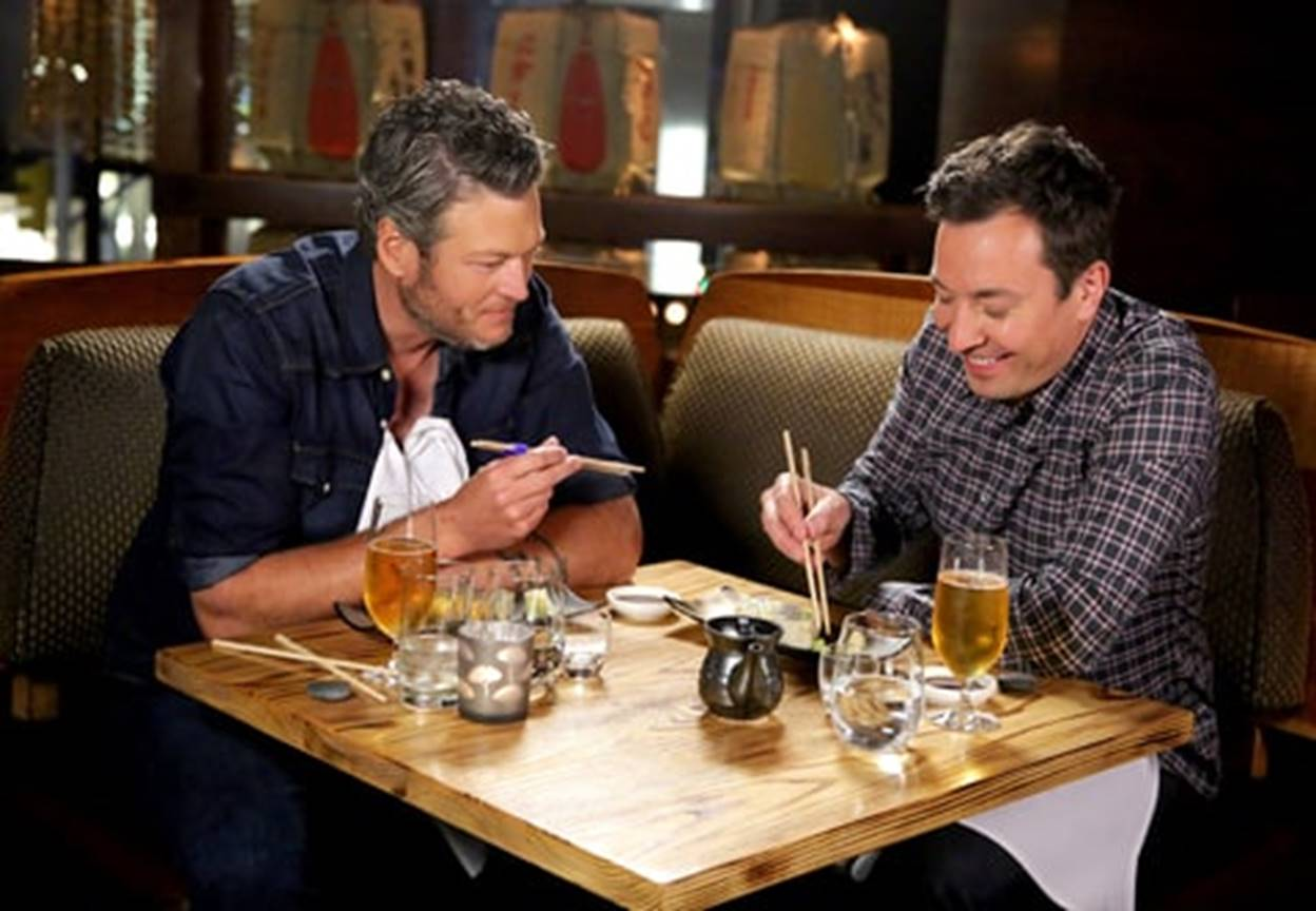 blake shelton and jimmy fallon