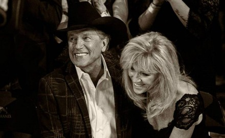 george strait with wife norma strait