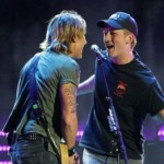 Keith Urban and Miles Teller Perform