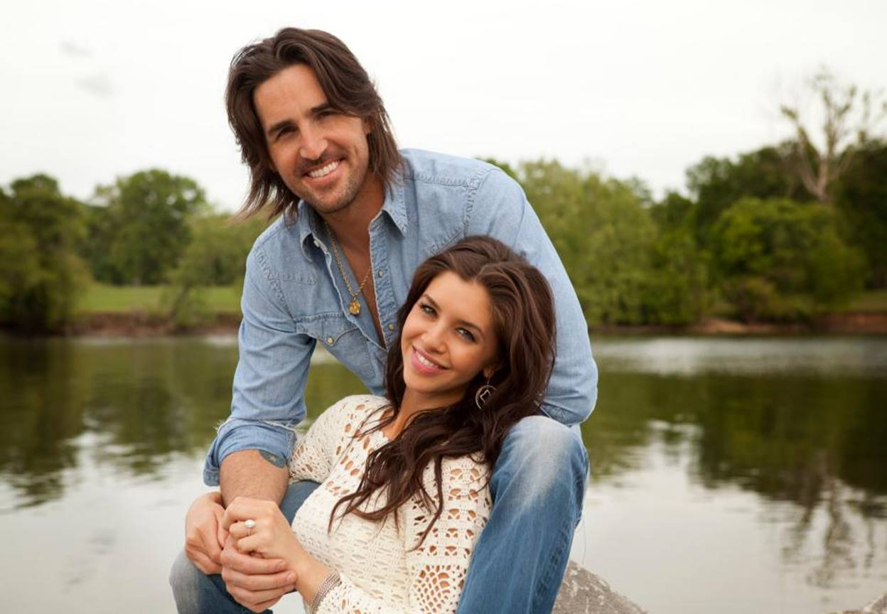 jake owen and lacey buchanan engagement photo