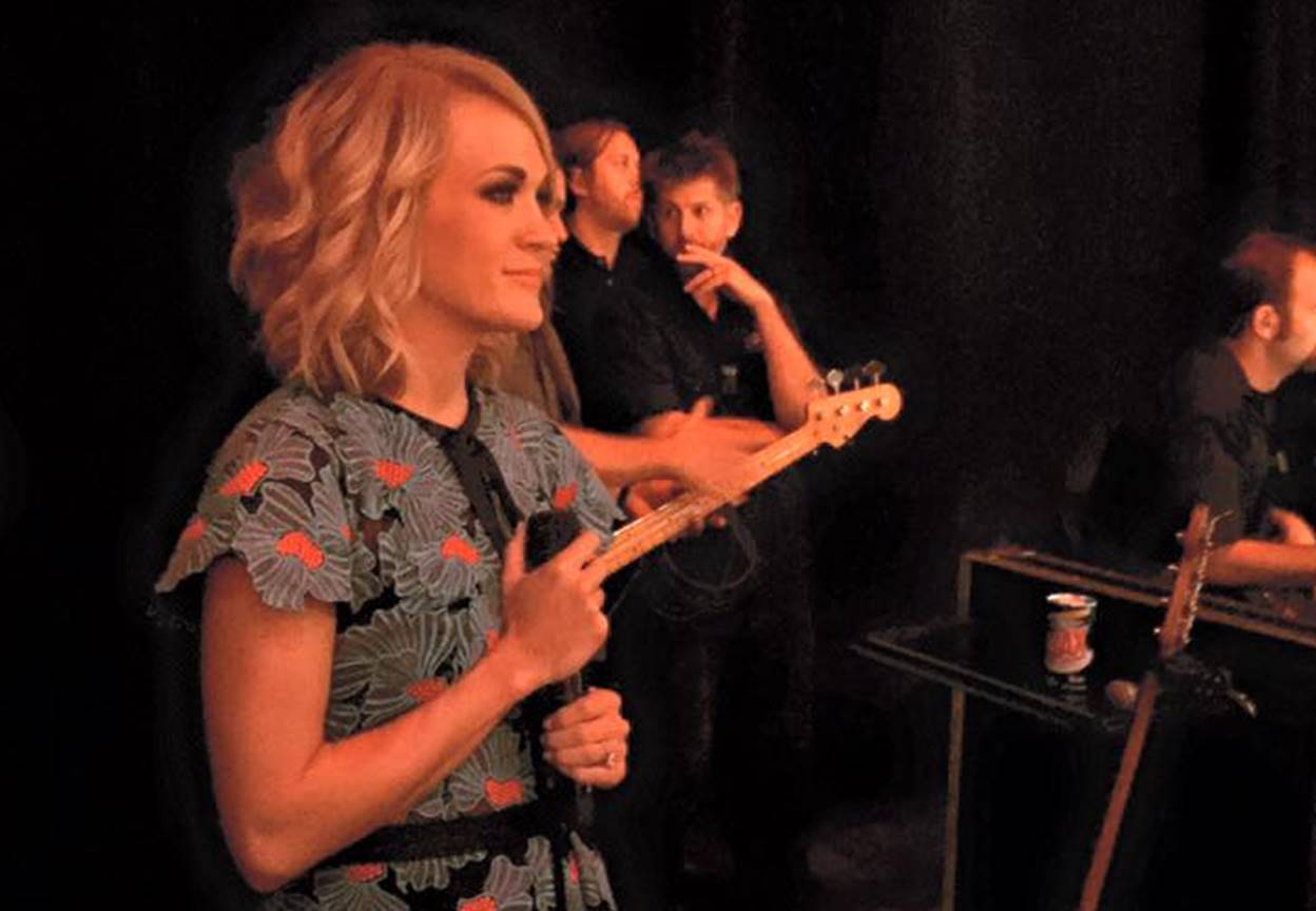 carrie underwood grand ole opry 2016