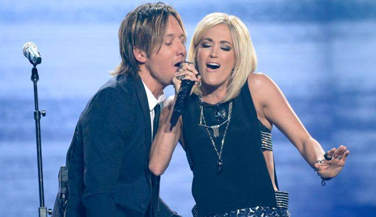 carrie underwood with keith urban