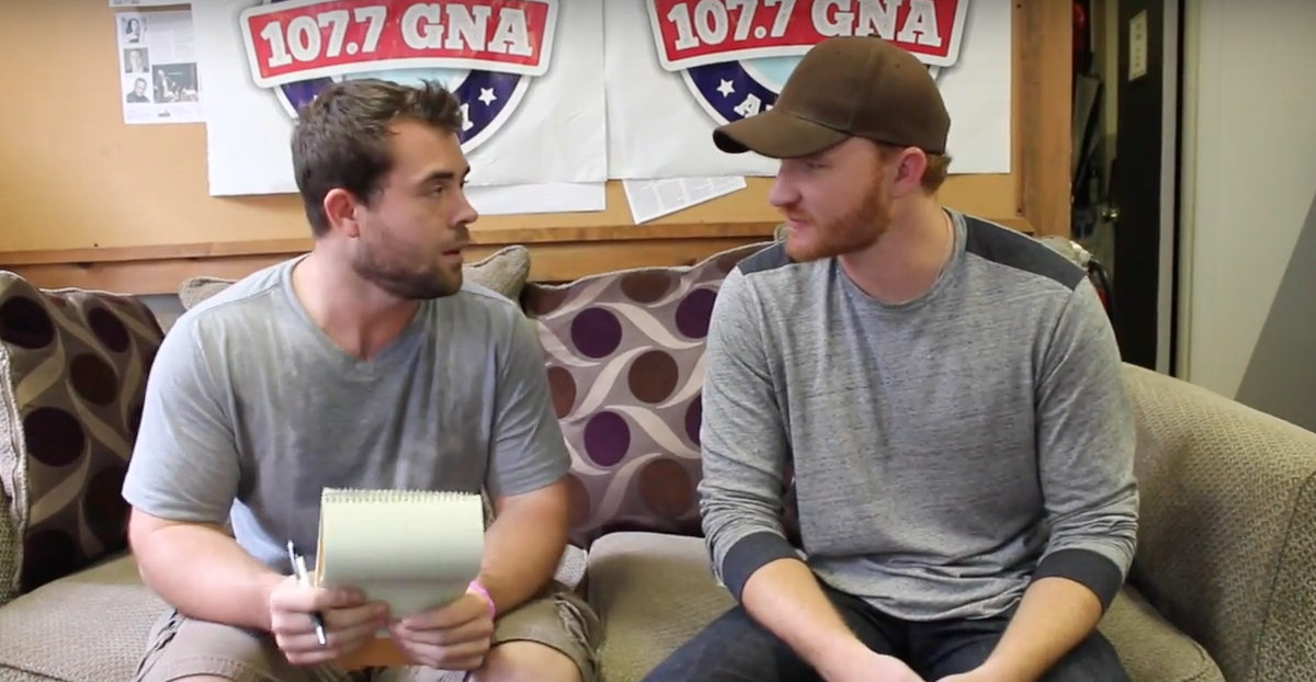 Eric Paslay Survives the World's Most Awkward Interview