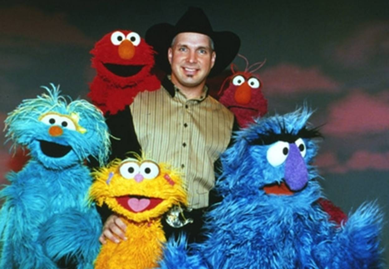 garth brooks sesame street