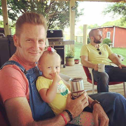 rory feek with indy feek