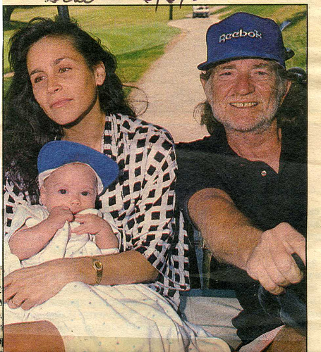 willie nelson and wife
