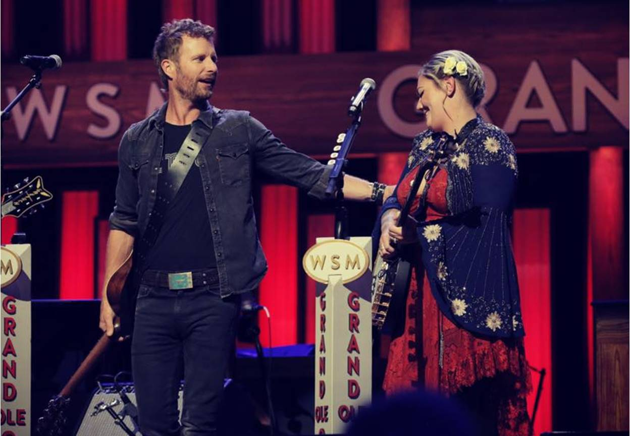 elle king grand ole opry debut