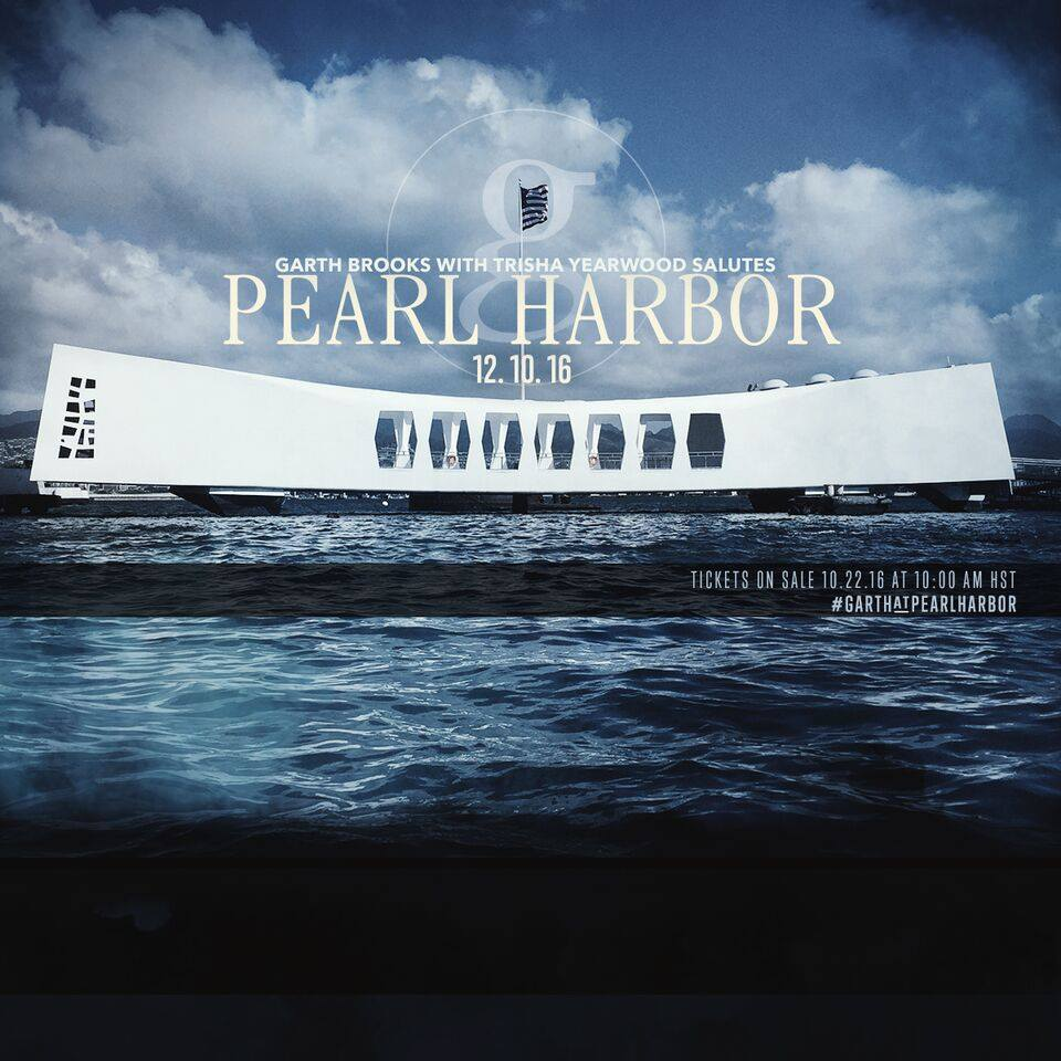 garth brooks pearl harbor