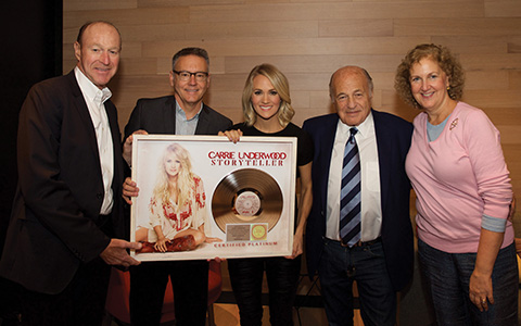 carrie underwood record