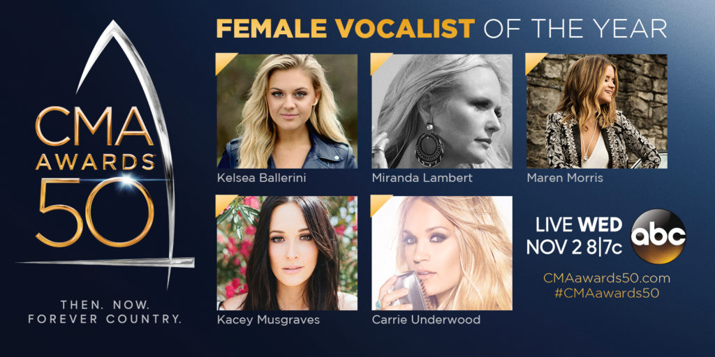 2016 Female Vocalist of the Year