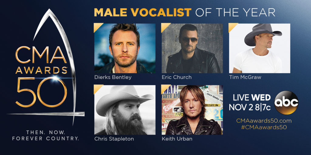 2016 Male Vocalist of the Year