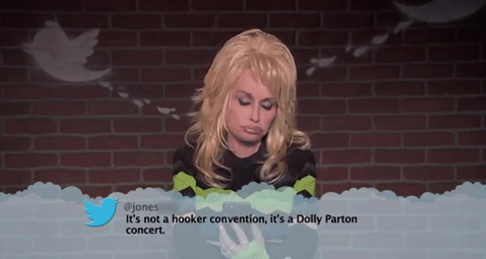 Dolly Parton Mean Tweets